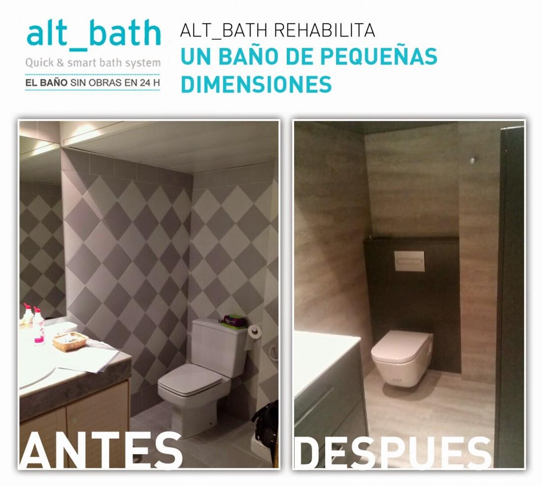 ALT_BATH REHABILITA UN BAÑO DE PEQUEÑAS DIMENSIONES - Alt Bath